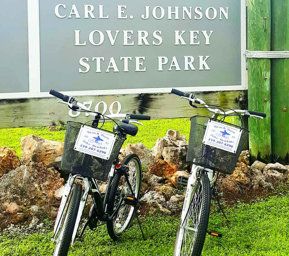 7-speed bike rentals at Lovers Key State Park Bonita Springs, Florida   Beach Bum Bike Rentals and Delivery Bonita Springs