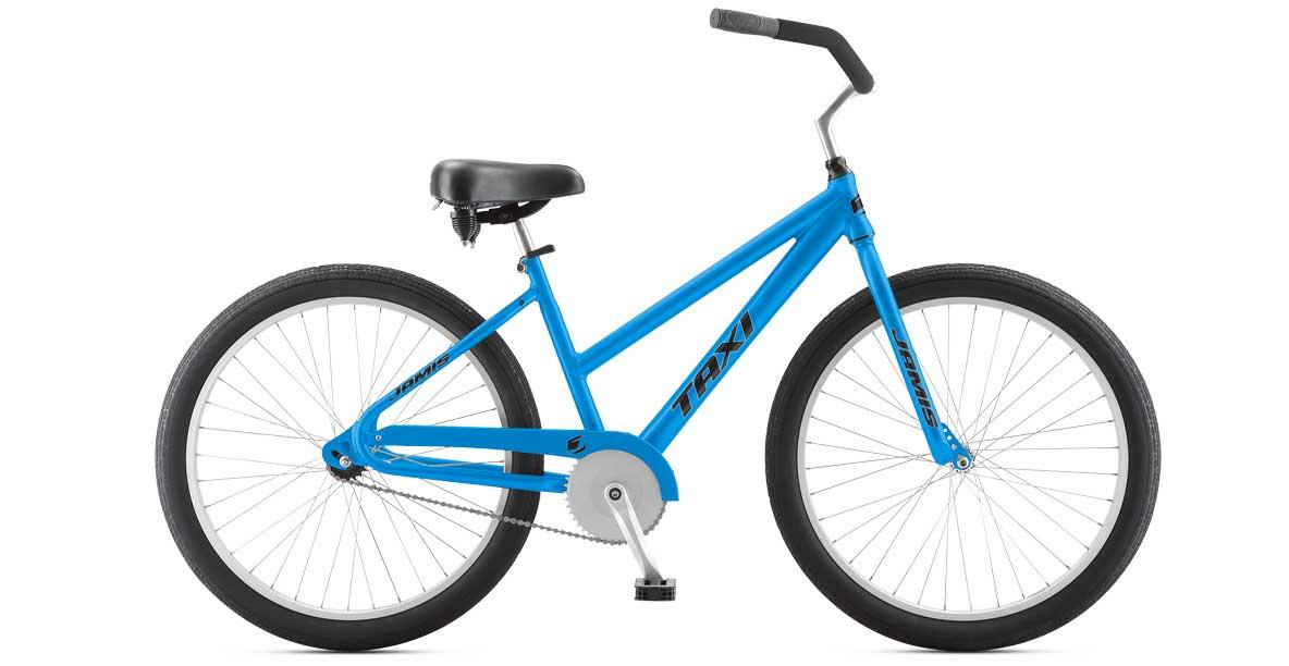 Jamis Taxi Single Speed Beach Cruiser Bike | Bike Rentals and Delivery Beach Bum Bike Rentals