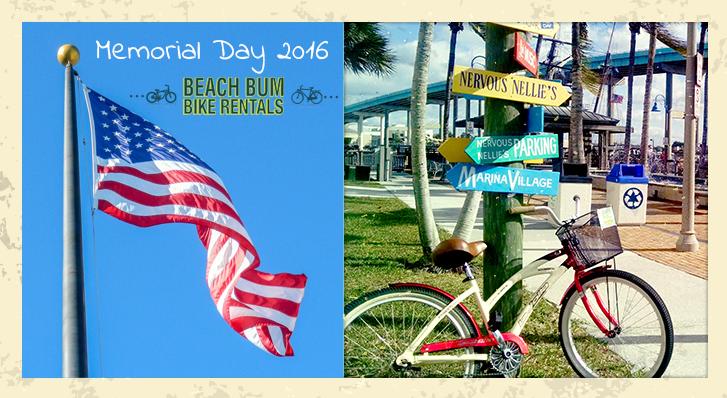 memorial day 2016 beach bum bike rentals
